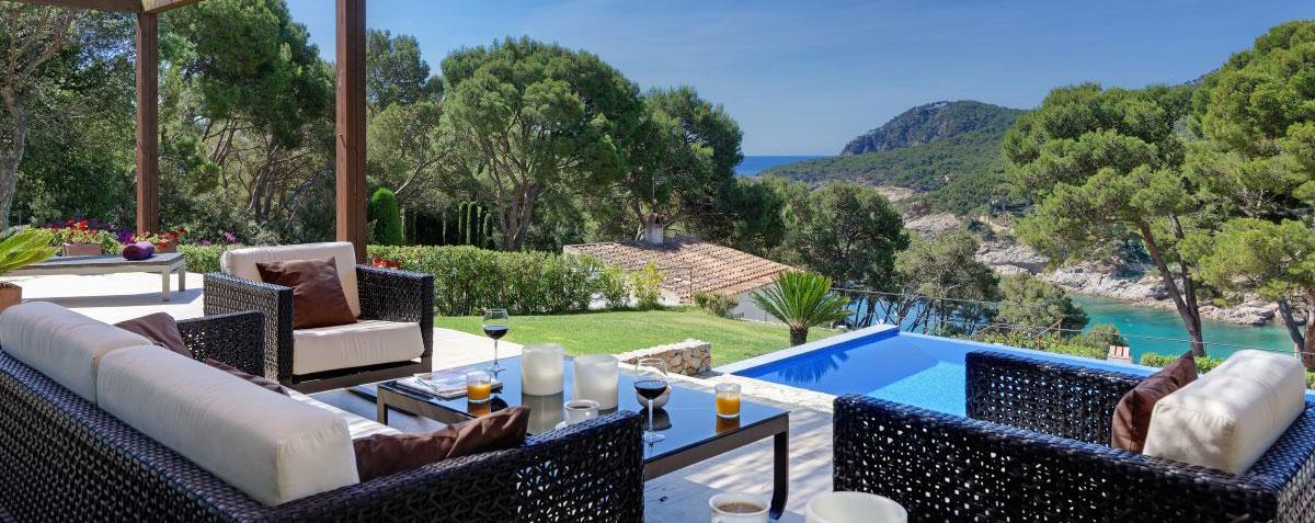 Location Tamariu Espagne  Location Villas Avec Piscine Belles